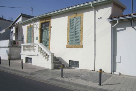 Conservation House B in Nicosia within the walls
